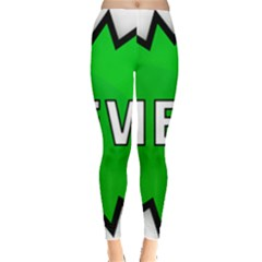 New Icon Sign Leggings  by Mariart