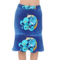 Zodiac Aquarius Mermaid Skirt