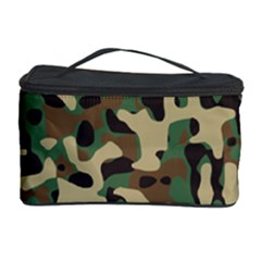 Army Camouflage Cosmetic Storage Case by Mariart