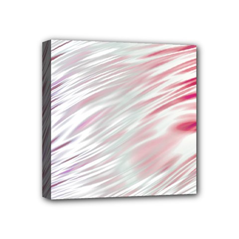 Fluorescent Flames Background With Special Light Effects Mini Canvas 4  X 4  by Nexatart