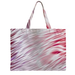 Fluorescent Flames Background With Special Light Effects Zipper Mini Tote Bag by Nexatart