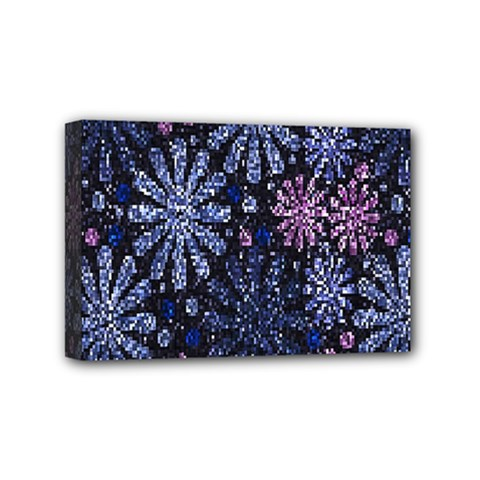 Pixel Pattern Colorful And Glittering Pixelated Mini Canvas 6  X 4  by Nexatart