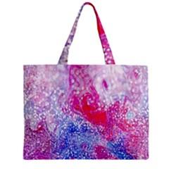 Glitter Pattern Background Zipper Mini Tote Bag by Nexatart
