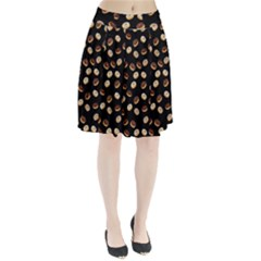 Donuts Pattern Pleated Skirt by Valentinaart