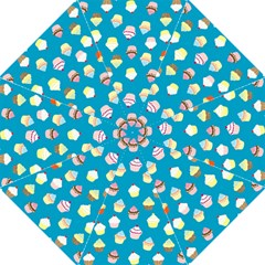 Cupcakes Pattern Straight Umbrellas by Valentinaart