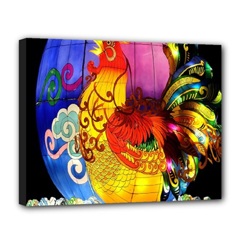 Chinese Zodiac Signs Canvas 14  X 11  by Onesevenart