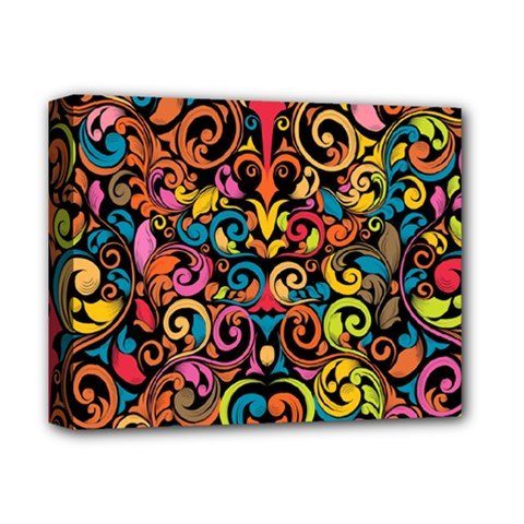 Art Traditional Pattern Deluxe Canvas 14  X 11  by Onesevenart