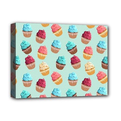 Cup Cakes Party Deluxe Canvas 16  X 12   by tarastyle