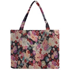 Japanese Ethnic Pattern Mini Tote Bag by Onesevenart