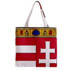 Coat Of Arms Of Hungary  Zipper Grocery Tote Bag by abbeyz71