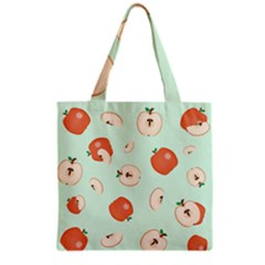 Apple Fruit Background Food Grocery Tote Bag by Nexatart