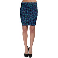 Background Abstract Textile Design Bodycon Skirt by Nexatart