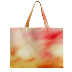Background Abstract Texture Pattern Zipper Mini Tote Bag by Nexatart