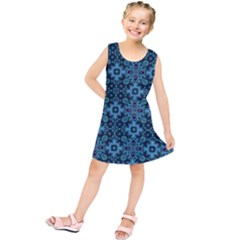 Abstract Pattern Design Texture Kids  Tunic Dress by Nexatart