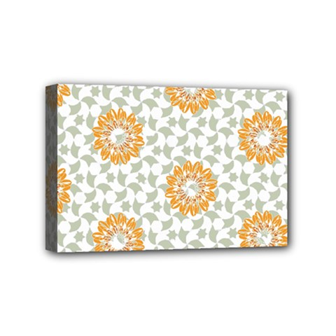 Stamping Pattern Fashion Background Mini Canvas 6  x 4