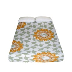 Stamping Pattern Fashion Background Fitted Sheet (full/ Double Size) by Nexatart