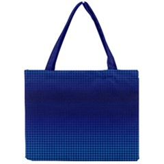 Blue Dot Mini Tote Bag by PhotoNOLA