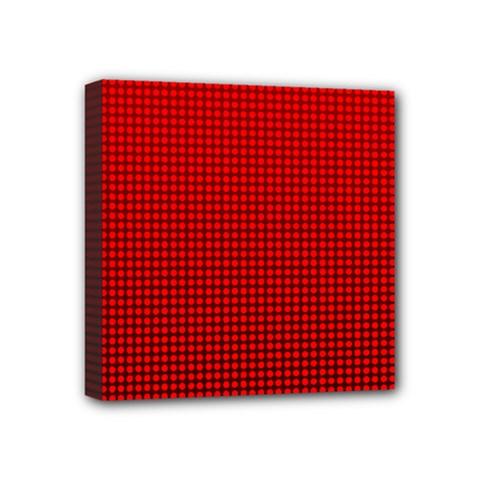 Redc Mini Canvas 4  X 4  by PhotoNOLA