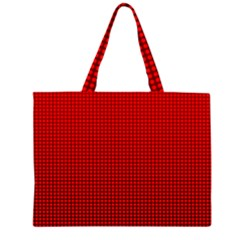 Redc Zipper Large Tote Bag by PhotoNOLA
