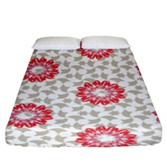 Stamping Pattern Fashion Background Fitted Sheet (king Size) by Nexatart