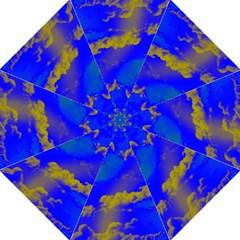 Sky Pattern Hook Handle Umbrellas (medium) by Valentinaart