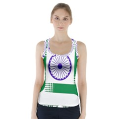 Seal Of Indian State Of Jharkhand Racer Back Sports Top by abbeyz71