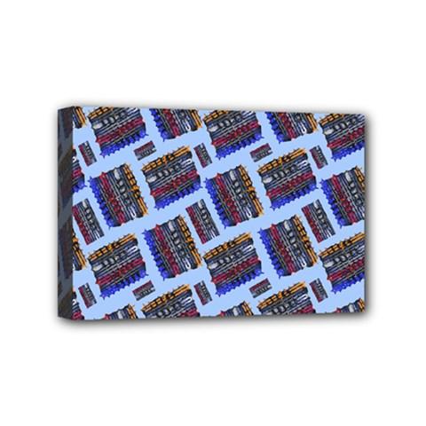 Abstract Pattern Seamless Artwork Mini Canvas 6  X 4  by Nexatart