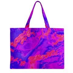 Sky Pattern Zipper Mini Tote Bag by Valentinaart