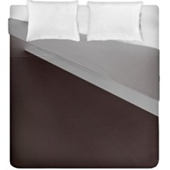 Course Gradient Color Pattern Duvet Cover Double Side (King Size) by Nexatart