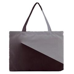 Course Gradient Color Pattern Medium Zipper Tote Bag by Nexatart