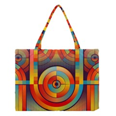 Abstract Pattern Background Medium Tote Bag by Nexatart