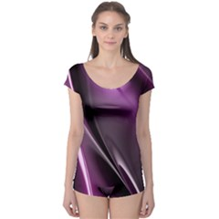 Fractal Mathematics Abstract Boyleg Leotard  by Nexatart