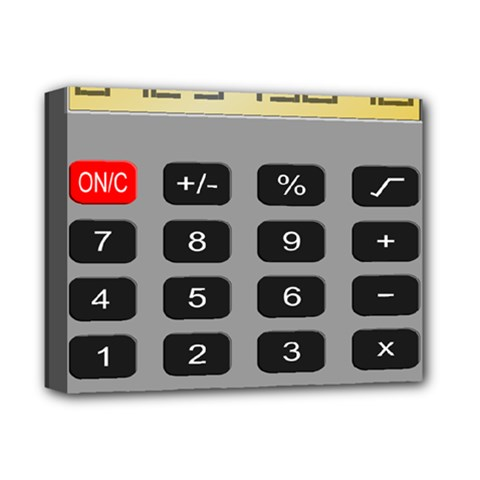 Calculator Deluxe Canvas 14  X 11  by Mariart