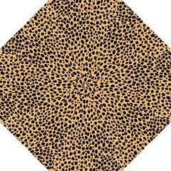 Cheetah Skin Spor Polka Dot Brown Black Dalmantion Hook Handle Umbrellas (large) by Mariart