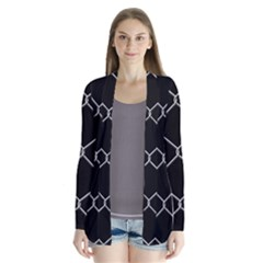 Iron Wire White Black Cardigans by Mariart