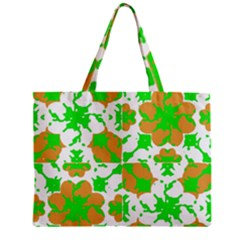 Graphic Floral Seamless Pattern Mosaic Mini Tote Bag by dflcprints