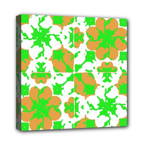 Graphic Floral Seamless Pattern Mosaic Mini Canvas 8  X 8  by dflcprints