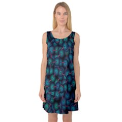 Background Abstract Textile Design Sleeveless Satin Nightdress by Nexatart