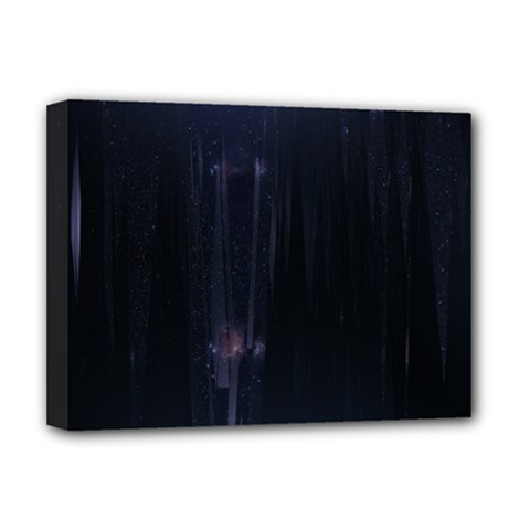 Abstract Dark Stylish Background Deluxe Canvas 16  X 12   by Nexatart