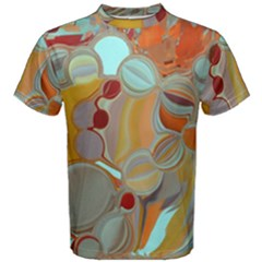 Liquid Bubbles Men s Cotton Tee by theunrulyartist