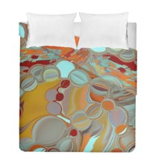 Liquid Bubbles Duvet Cover Double Side (full/ Double Size) by theunrulyartist