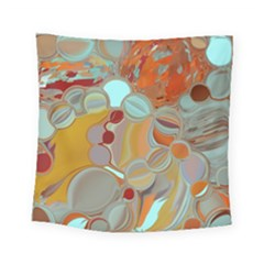 Liquid Bubbles Square Tapestry (small) by theunrulyartist