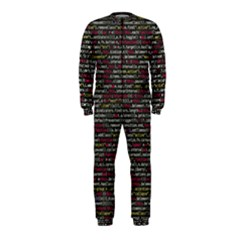 Full Frame Shot Of Abstract Pattern Onepiece Jumpsuit (kids) by Nexatart