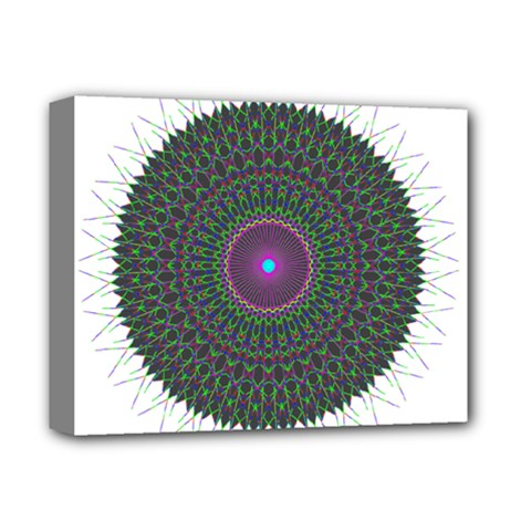 Pattern District Background Deluxe Canvas 14  X 11  by Nexatart