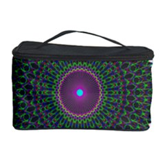 Pattern District Background Cosmetic Storage Case by Nexatart
