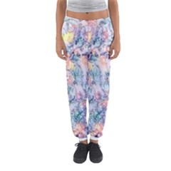Softly Floral C Women s Jogger Sweatpants by MoreColorsinLife