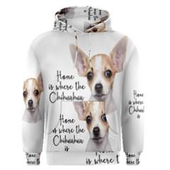 Chihuahua Men s Pullover Hoodie by Valentinaart