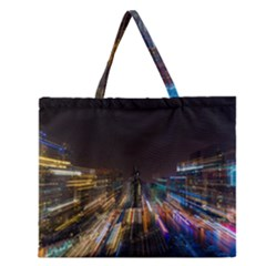 Frozen In Time Zipper Large Tote Bag by Nexatart