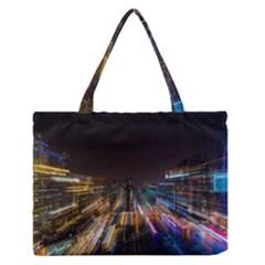 Frozen In Time Medium Zipper Tote Bag by Nexatart
