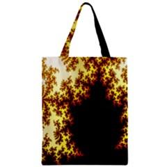 A Fractal Image Zipper Classic Tote Bag by Nexatart